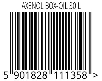 05901828111358 - AXENOL BOX-OIL 30 L