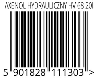 05901828111303 - AXENOL HYDRAULICZNY HV 68 20l