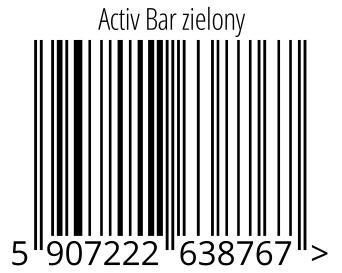 05907222638767 - Activ Bar zielony