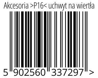 05902560337297 - Akcesoria >P16< uchwyt na wiertła