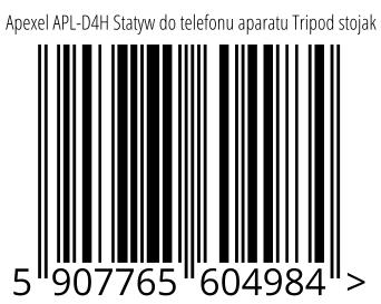 05907765604984 - Apexel APL-D4H Statyw do telefonu aparatu Tripod stojak