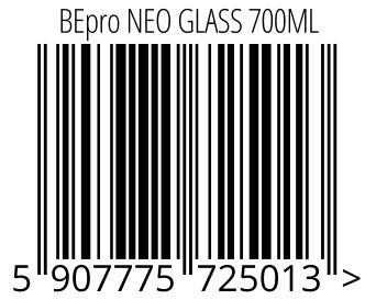 05907775725013 - BEpro NEO GLASS 700ML
