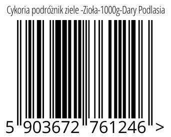 05903672761246 - Cykoria podróżnik ziele -Zioła-1000g-Dary Podlasia