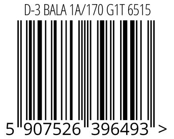 05907526396493 - D-3 BALA 1A/170 G1T 6515