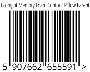 05907662655591 - Econight Memory Foam Contour Pillow Parent