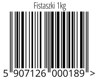 05907126000189 - Fistaszki 1kg
