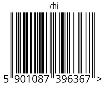 05901087396367 - Ichi