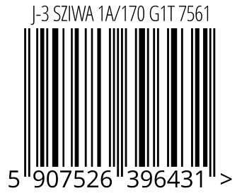 05907526396431 - J-3 SZIWA 1A/170 G1T 7561
