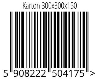 05908222504175 - Karton 300x300x150
