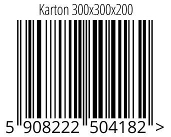 05908222504182 - Karton 300x300x200