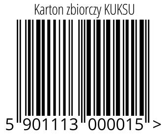 05901113000015 - Karton zbiorczy KUKSU