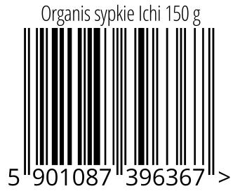 05901087396367 - Organis sypkie Ichi 150 g