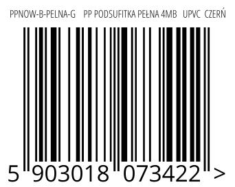 05903018073422 - PPNOW-B-PELNA-G    PP PODSUFITKA PEŁNA 4MB   UPVC  CZERŃ