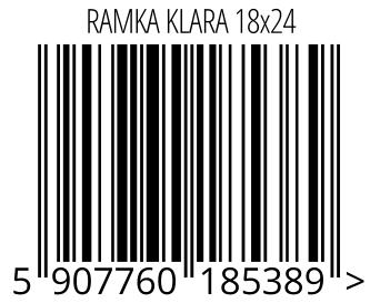 05907760185389 - RAMKA KLARA 18x24