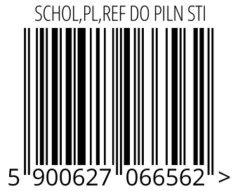 05900627066562 - SCHOL,PL,REF DO PILN STI