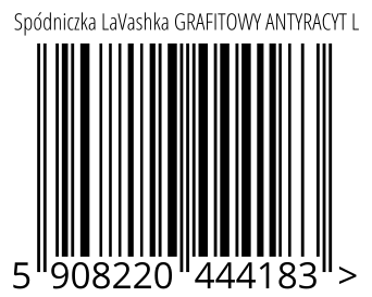 05908220444183 - Spódniczka LaVashka GRAFITOWY ANTYRACYT L