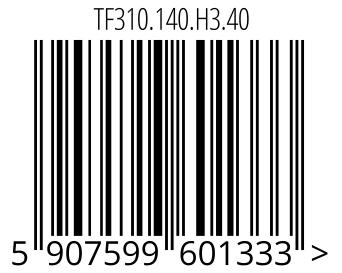 05907599601333 - TF310.140.H3.40