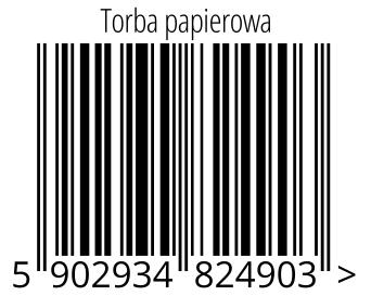 05902934824903 - Torba papierowa