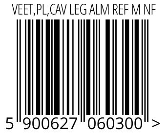 05900627060300 - VEET,PL,CAV LEG ALM REF M NF