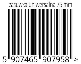 05907465907958 - zasuwka uniwersalna 75 mm